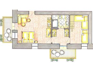 Family Suite 50 mq